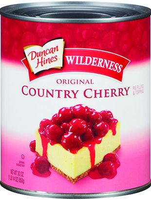 Duncan Hines Wilderness® Country Cherry Pie Filling & Topping 30 oz.