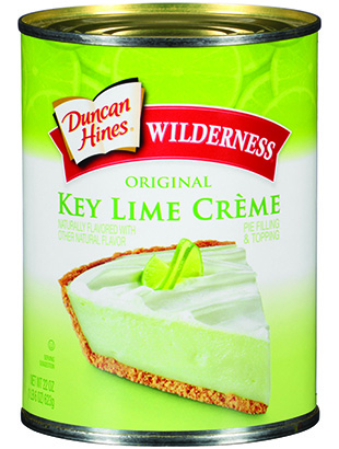 Duncan Hines Wilderness® Key Lime Crème Pie Filling & Topping