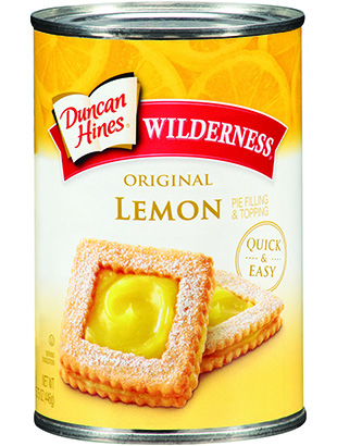 Duncan Hines Wilderness® Lemon Pie Filling & Topping