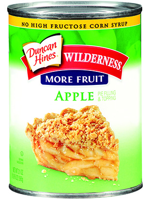 Duncan Hines Wilderness® More Fruit Apple Pie Filling & Topping