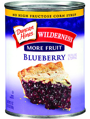 Duncan Hines Wilderness® More Fruit Blueberry Pie Filling & Topping