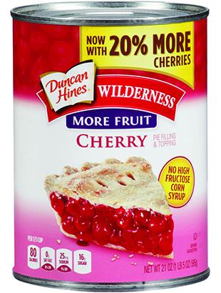 Duncan Hines Wilderness® More Fruit Cherry Pie Filling & Topping