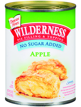 Duncan Hines Wilderness® No Sugar Added Apple Pie Filling & Topping