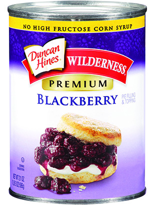 Duncan Hines Wilderness® Premium Blackberry Pie Filling & Topping
