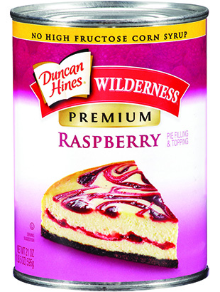 Duncan Hines Wilderness® Premium Raspberry Pie Filling & Topping