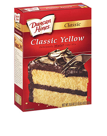 duncan hines yellow cake mix classic yellow cake mix duncan hines 174 3776