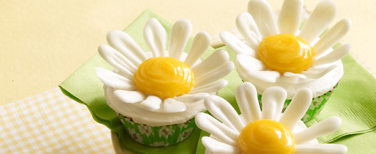 Coming Up Daisies Cupcakes