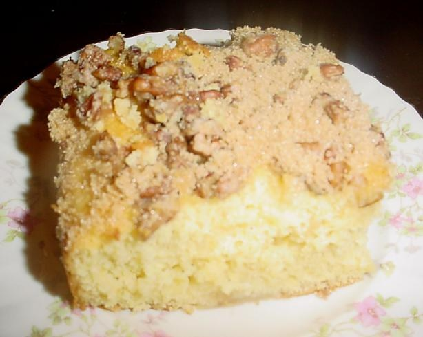 Apple Coffee Cake With Applesauce