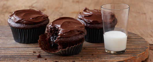 Triple Chocolate Decadent Cupcakes