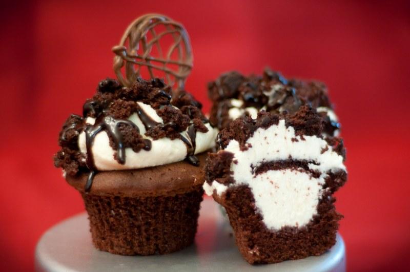 Triple Chocolate Brownie Crumble
