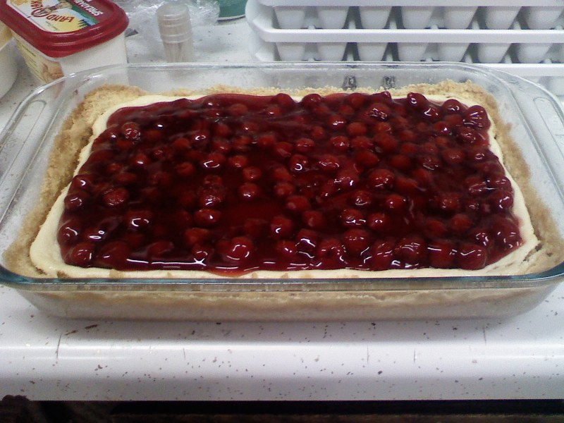 Cherry Topped Cheesecake