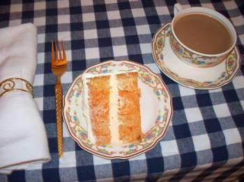 Duncan Hines Orange Cake With Pudding Icing