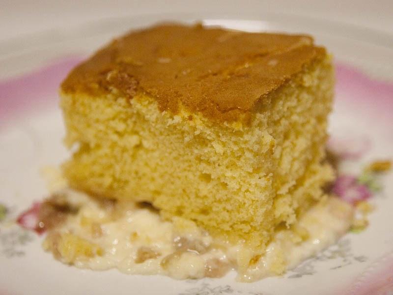 Rhubarb Custard Cake Recipe From Scratch