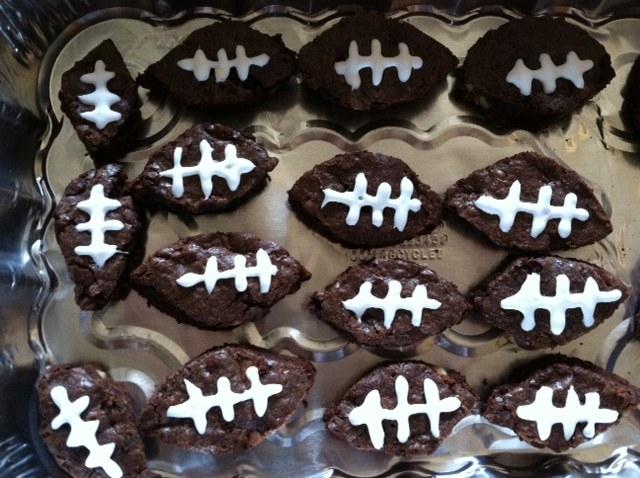 Touchdown Football Brownies
