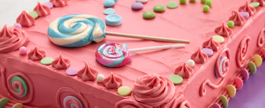 Bubble Gum Candy Cake