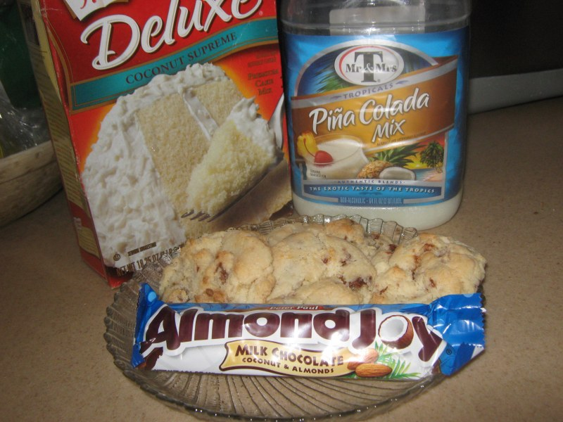 Duncan Hines Coconut Cake Mix Cookies