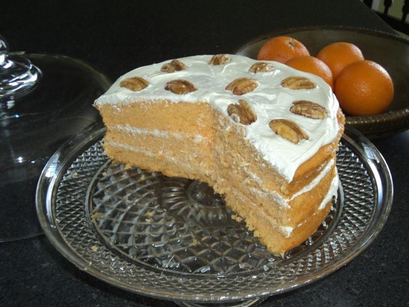 Orange Nectar Marmalade Cake