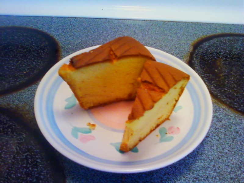 French Vanilla Butter Golden Pound Cake