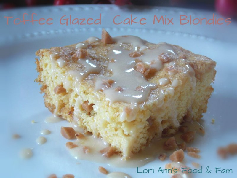 How To Make Blondies With Yellow Cake Mix