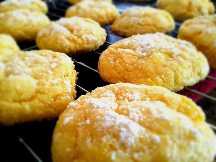 Duncan Hines Lemon Supreme Cake Mix Cookies
