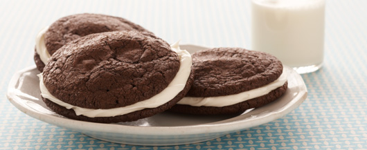 Easy Brownies and Cream Sandwich Cookies