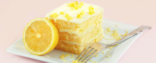 Luscious Lemon Supreme Cake