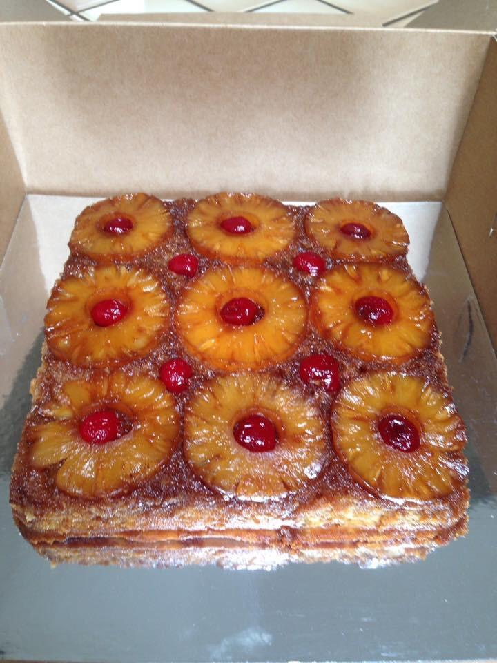 Recipe apple upside down cake using cake mix