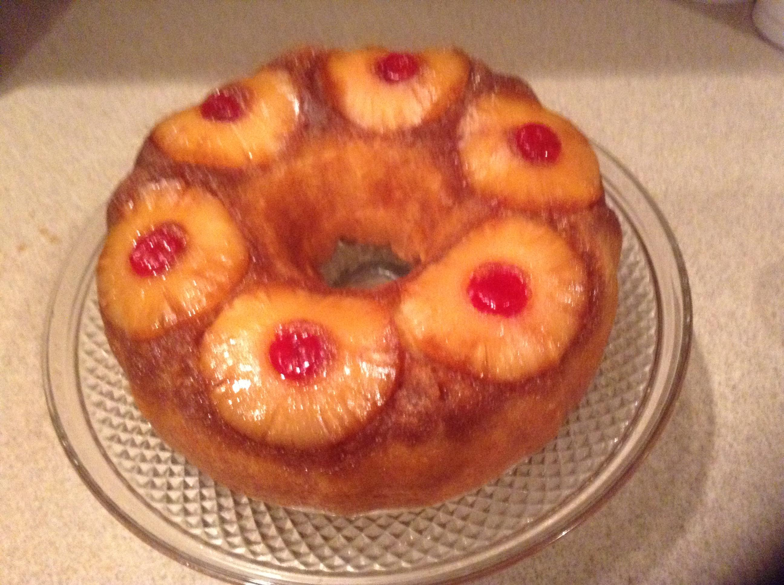 Duncan Hines Pineapple Upside Down Cake Youtube