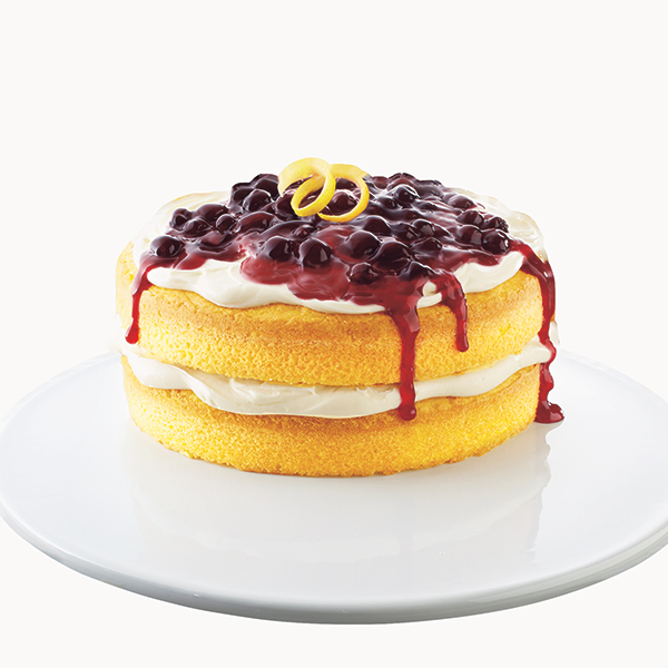 Duncan Hines Blueberry Fruit Toppers Layer Cake