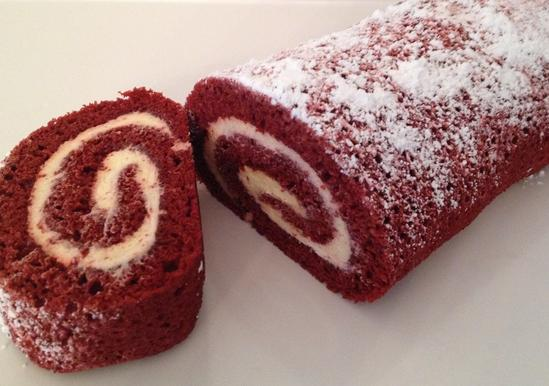 Red Velvet Roll Duncan Hines 174