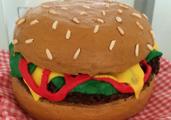 Hamburger Cake Duncan Hines 174