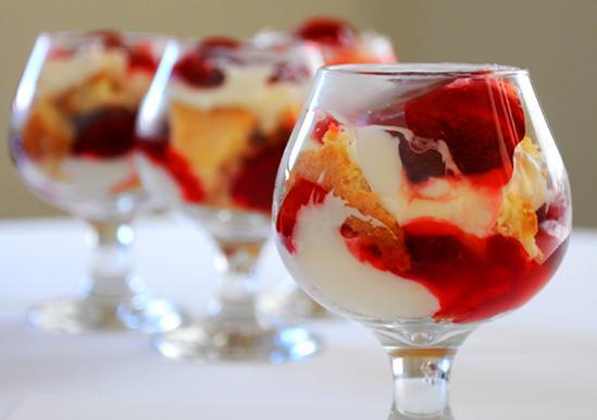 Comstock Cake Trifle
