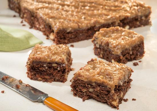 Loaded German Chocolate Brownies
