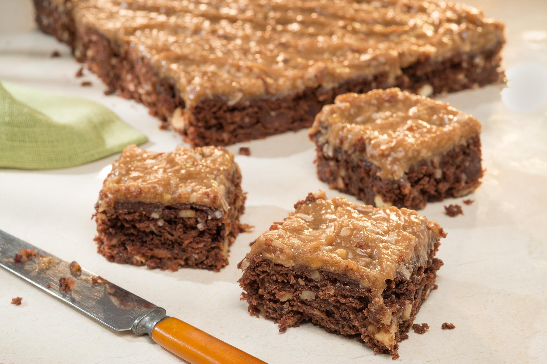 Loaded German Chocolate Brownies | Duncan Hines®