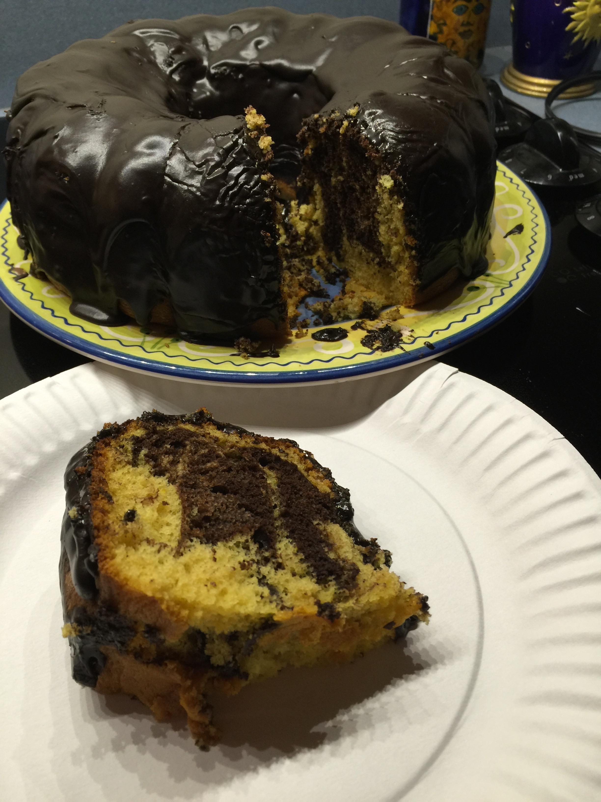 Fudge Marble Pound Cake Duncan Hines 174