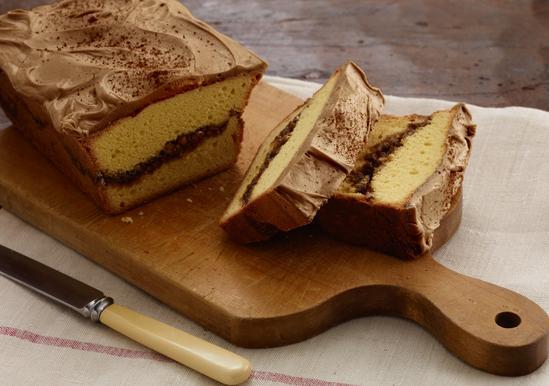 Salted Caramel Cinnamon Streusel Loaves