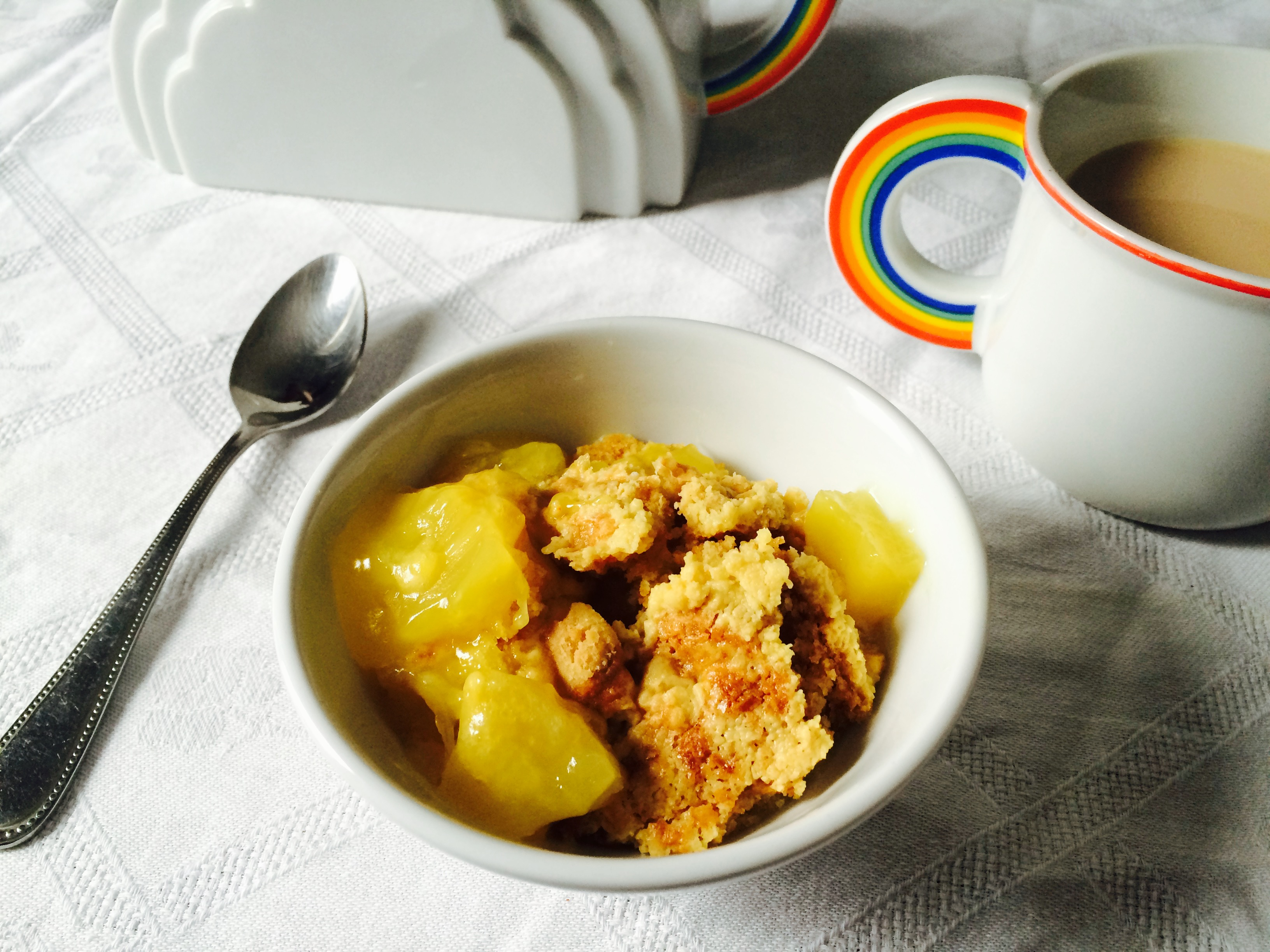Lemon Pineapple Dump Cake
