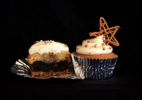 9 Layer Magic Cupcakes