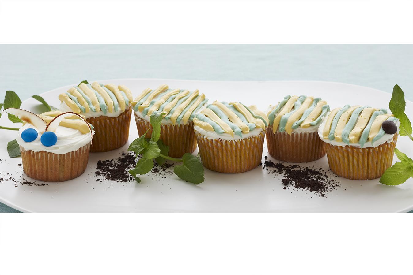 Captivating Caterpillar Cupcakes