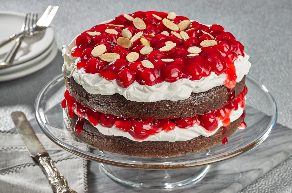 Decadent Chocolate Cherry Torte