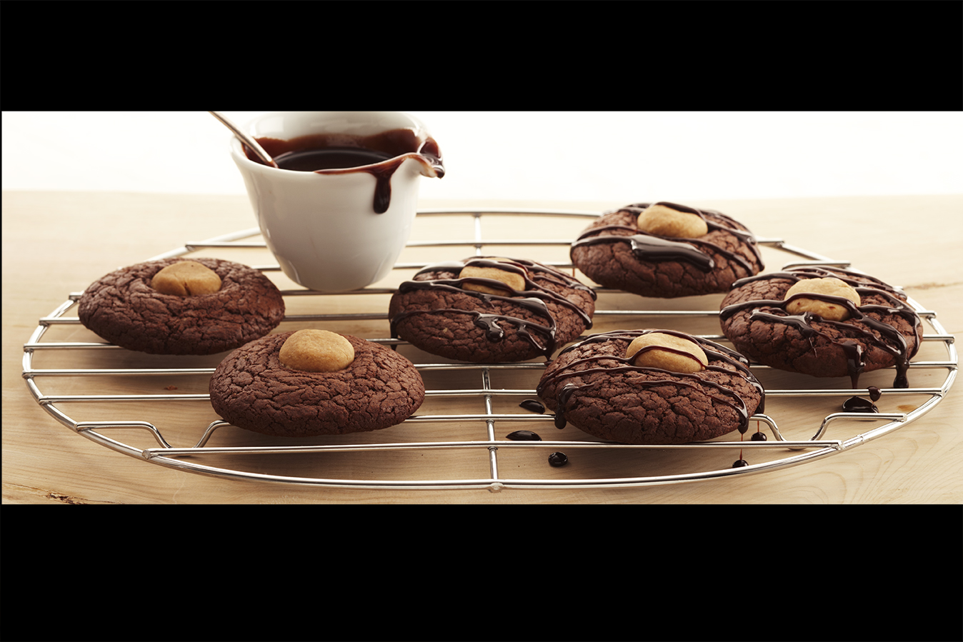 Easy Chocolate Peanut Butter Brownie Cookies