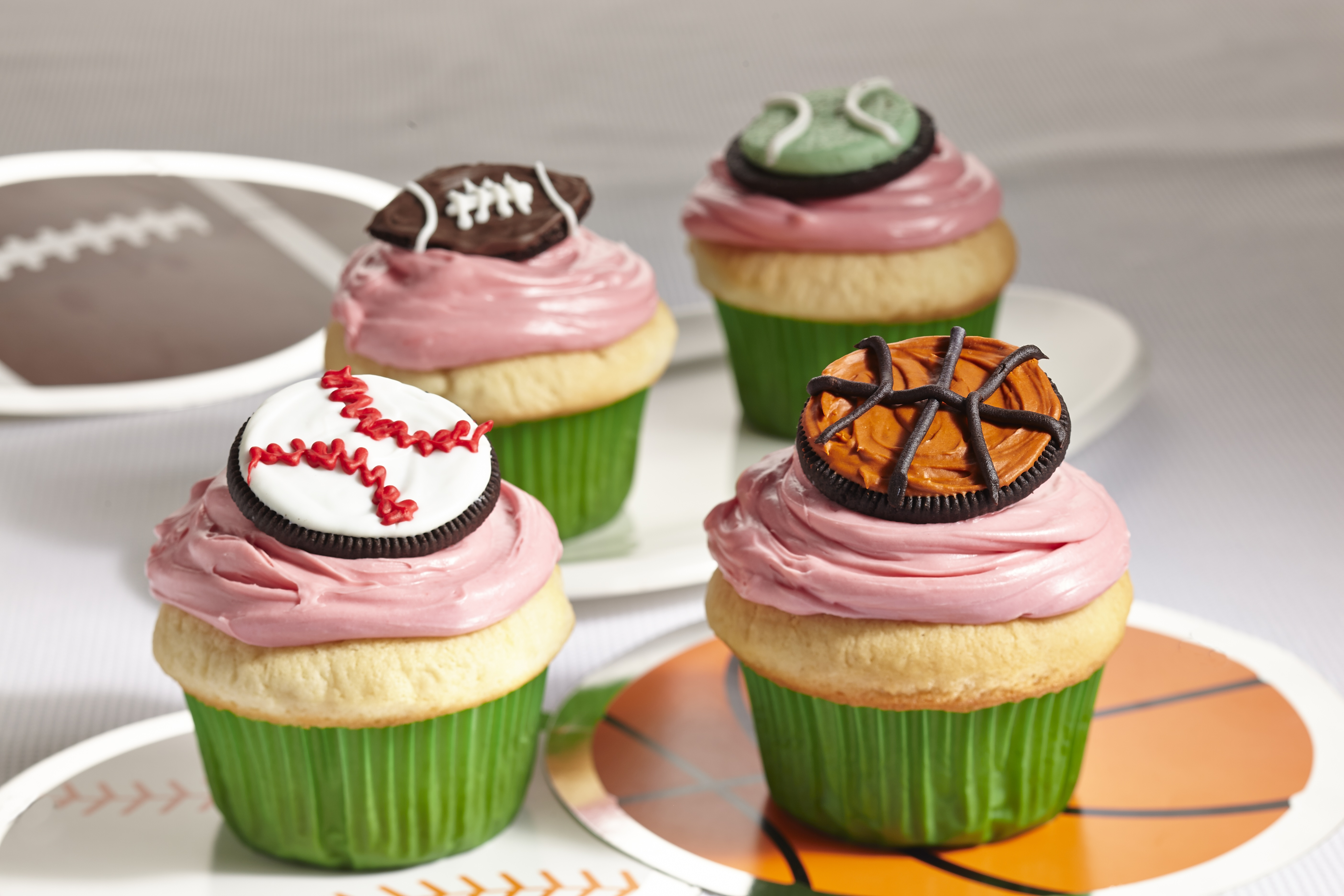 Game Day Cupcakes