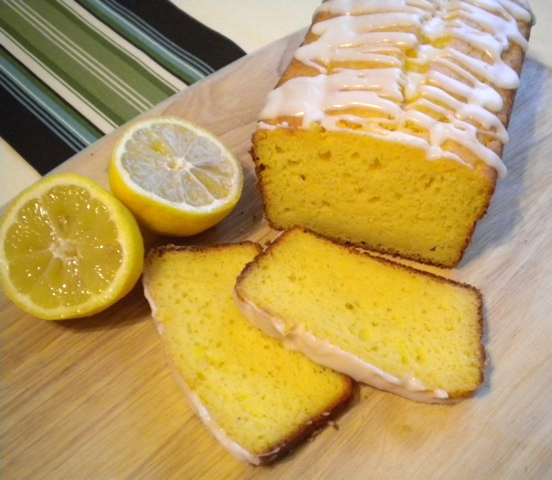 Lemon Coconut Loaf Cake