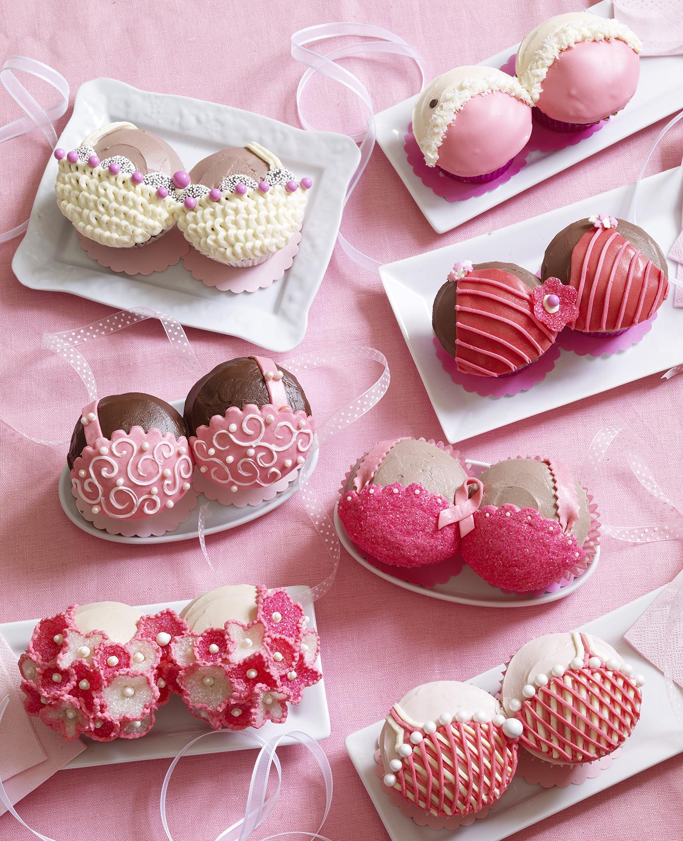 Pretty Pink Bras
