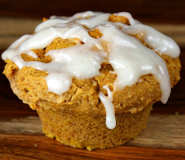 Pumpkin And Yellow Cake Mix Muffins