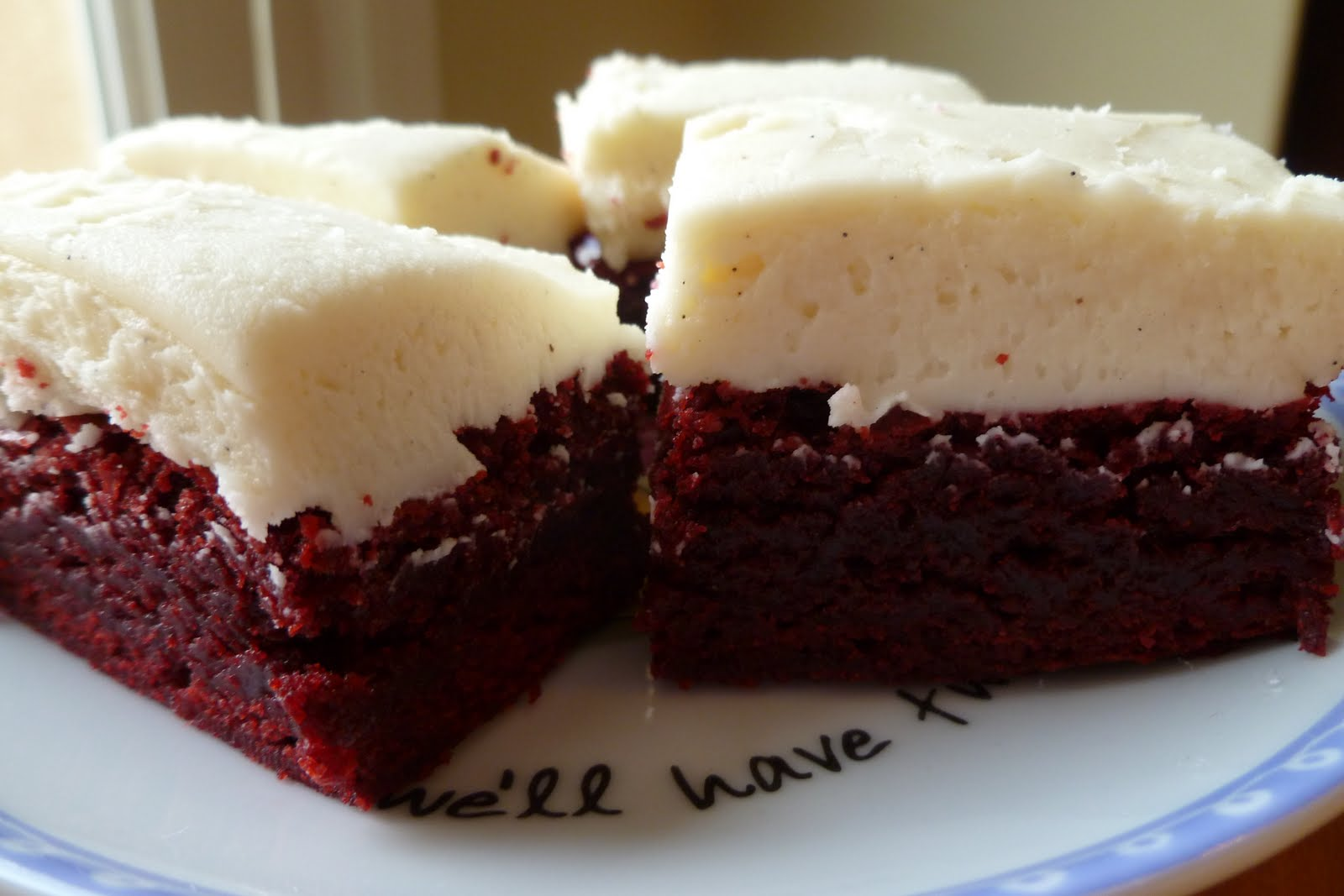 Red velvet brownies recipe with cake mix