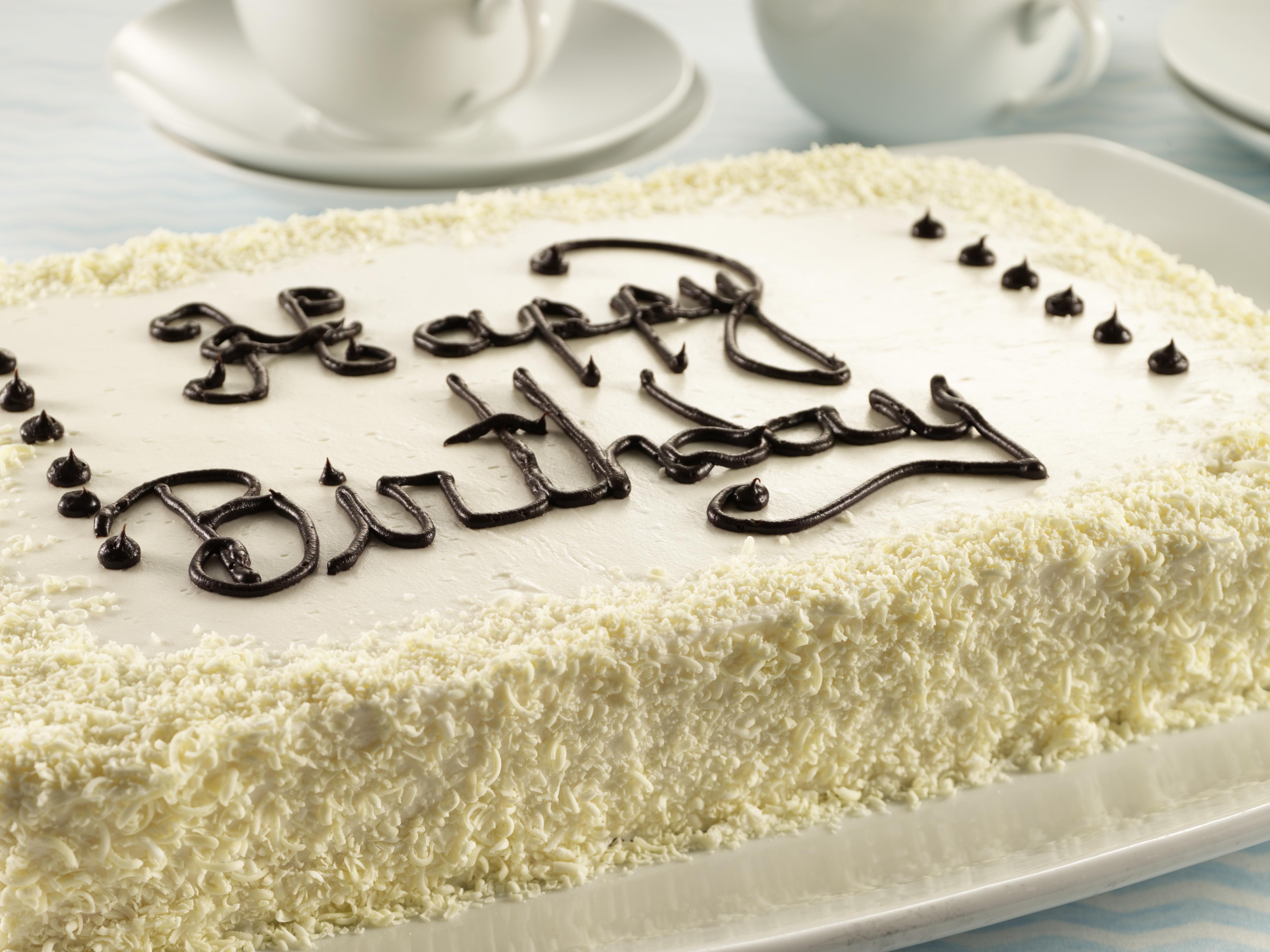 White Chocolate Birthday Cake Duncan Hines