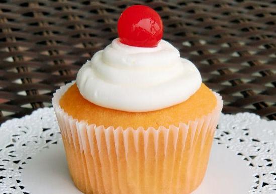 Amaretto Stone Sour Cupcake
