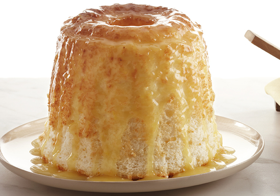 Angel Food Cake With Fresh Citrus Sauce