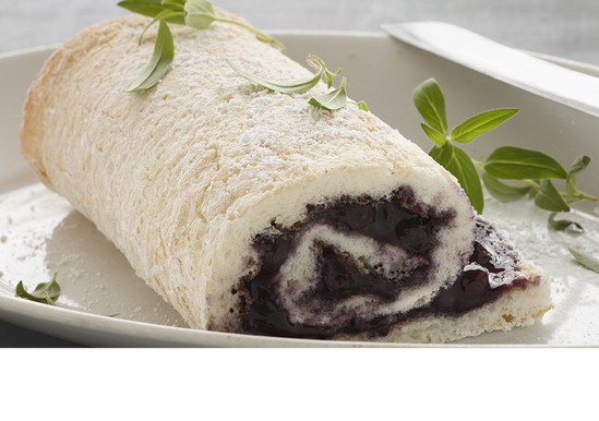 Cake Mix Jelly Roll Recipe: Blueberry Angel Food Cake Rolls